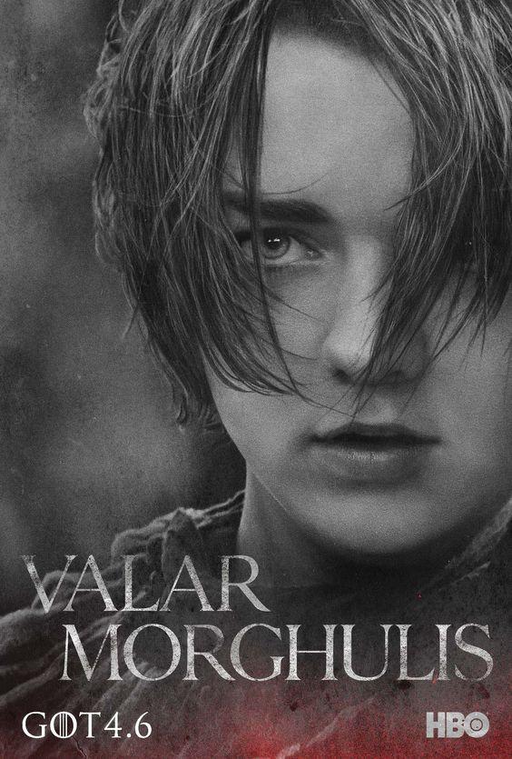 Le Trône de fer Game of Thrones Saison 4 Poster Arya