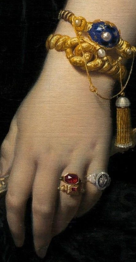 Jean-Auguste-Dominique Ingres. Detail from Portrait of Madame Moitessier Standing, 1851