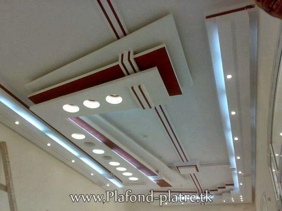 faux plafond suspendu moderne 2013 salon marocain moderne 2014 faux plafond platre. Black Bedroom Furniture Sets. Home Design Ideas