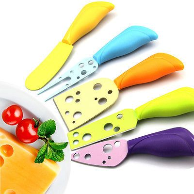 New Cheese Butter Fork Spreader Stainless Steel Knives Pizza Knife Set