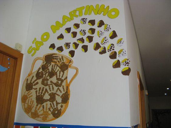ideias para o outono jardim de infancia : ideias para o outono jardim de infancia:trabalhos sobre o sao martinho – Pesquisa do Google