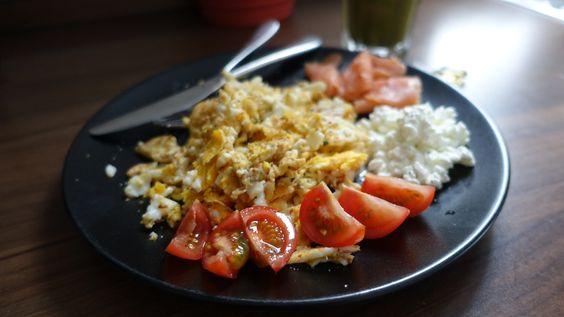 Frühstück Rührei