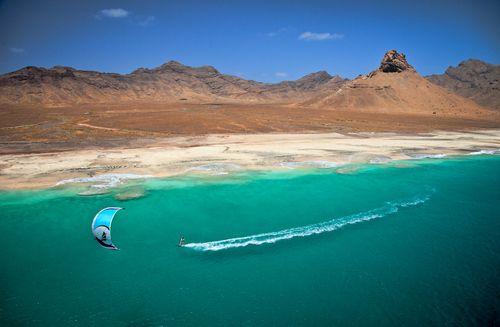 Kiteboarding in Cape Verde (by Jody MacDonald)