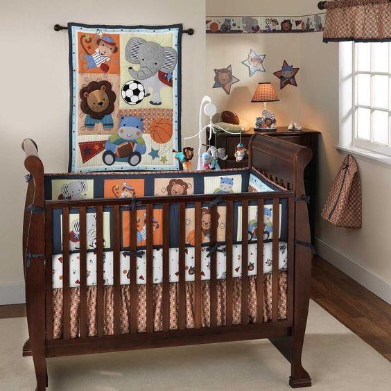 nursery animal print rug