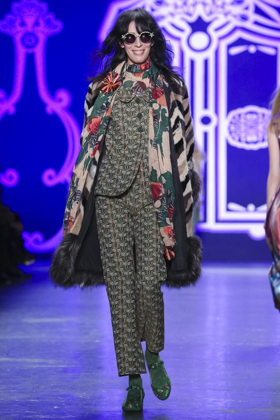 Anna Sui Ready To Wear Fall Winter 2016 New York