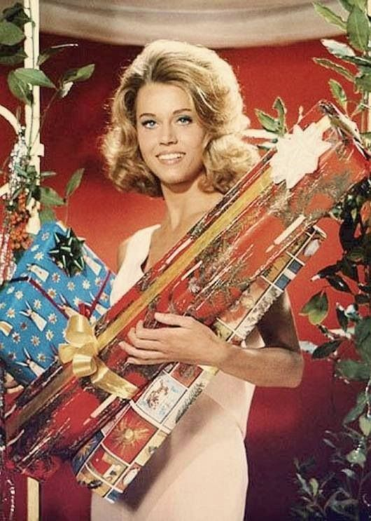 Jane Fonda @Marisa Pennington Foster #bemorefestive: