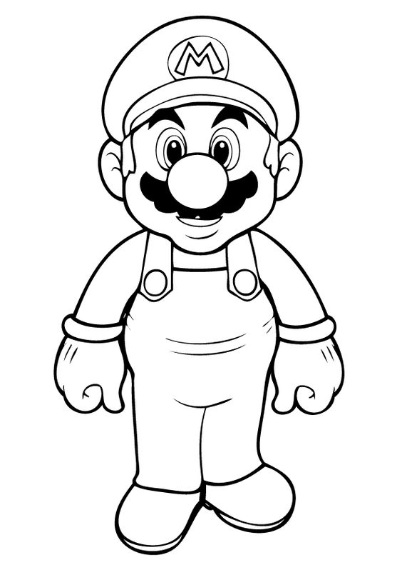 all mario characters coloring pages free printable mario coloring pages for kids - All Coloring Pages