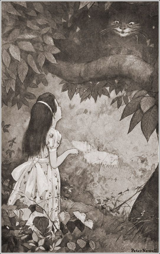 Peter Newell (1862 -1924), Alice's adventures in Wonderland: