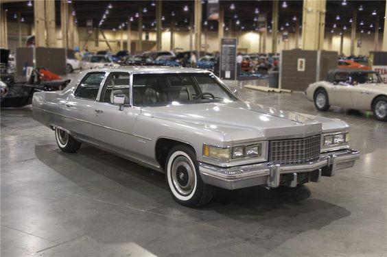 1976 Cadillac Fleetwood Brougham 4 Door Sedan