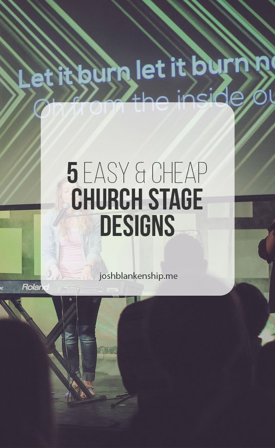 5 more simple and cheap church stage designs church media pinterest church stage design church stage and stage design - Church Stage Design Ideas For Cheap