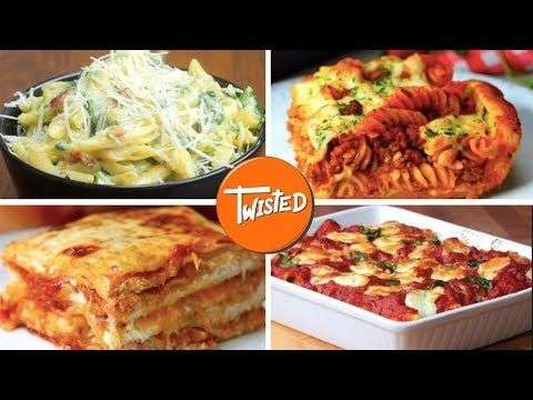 10 Italian Inspired Meals | Twisted - YouTube | Recipes in