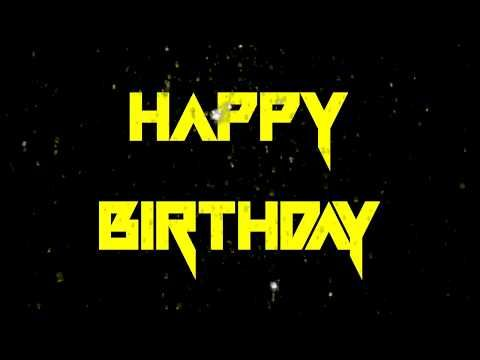 Happy Birthday Song Speed Power Metal Version Hq Audio Youtube In 2020 Happy Birthday Song Birthday Songs Songs