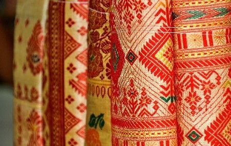 Assamese Muga Silk Sarees  source: http://www.rediff.com/business/slide-show/slide-show-1-what-makes-assams-muga-silk-as-expensive-as-gold/20111123.htm