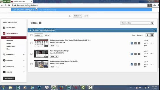 How to add your tags, description for the video series