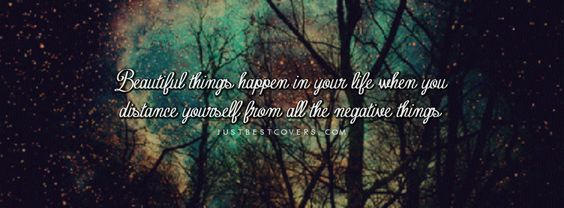 Things happen, Beautiful things and Cover photos on Pinterest