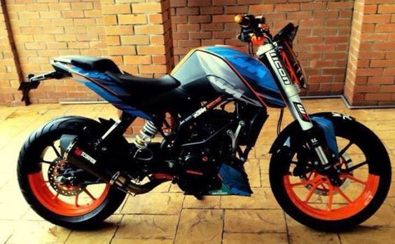 modified ktm duke modificaciones ktm pinterest duke. Black Bedroom Furniture Sets. Home Design Ideas