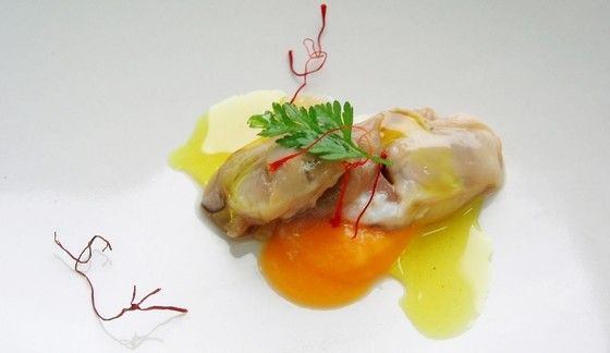 Almejas en salsa de azafrán y aceite de oliva - Concurso 2010 - Eva Baides