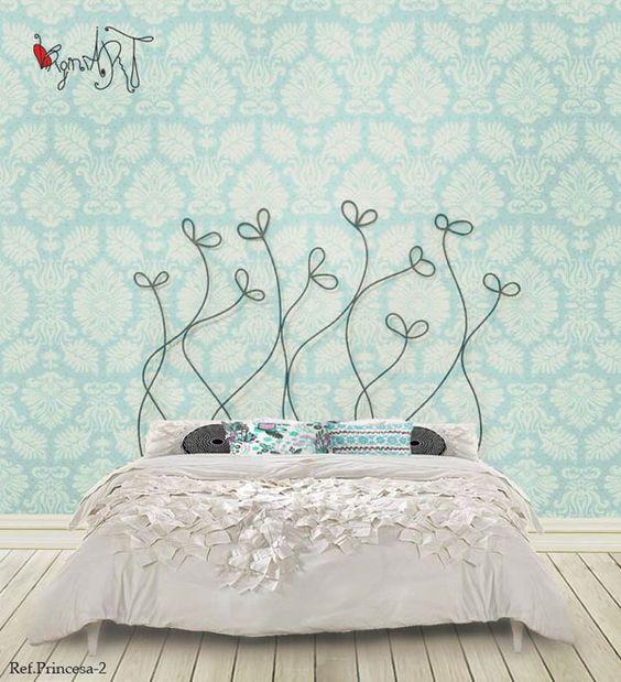 Cabeceros de forja dise o en forja cabecero de cama fabricado de forja - Cabeceros cama originales ...