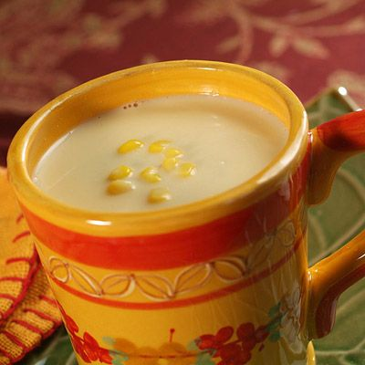 "Corn Atole is a traditional Central American hot beverage. In Guatemala at 3:00 p.m., everyone goes out to get their ""atole de elote"" along with tamales or tostadas at a nearby food stand. If you like more cinnamon flavor, sprinkle with some ground cinnamon and savor this hot, comforting drink."