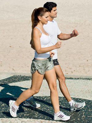 Caminhada 3x por semana = pernas e bumbum firmes e desenhados: