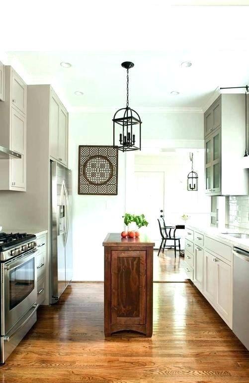Thin Kitchen Island Skinny Kitchen Narrow Kitchen Island Galley Kitchen Design Kitchen Design Small