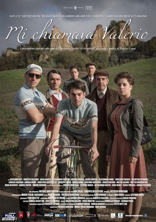 «Mi chiamava Valerio» heisst die (Film-)Biographie des italienischen Radrennfahrers Valeriano Falsini. Der Sohn eines Töpfers (deshalb sein Spitzname «il Pentolaio») hatte viele Amateur-Radrennen gewonnen, als er 1950 in das legendäre Bianchi-Team aufgenommen wurde. Falsini war der «Wasserträger» von Fausto Coppi und verehrt «il Campionissimo» (den «Weltmeister der Weltmeister») bis heute.