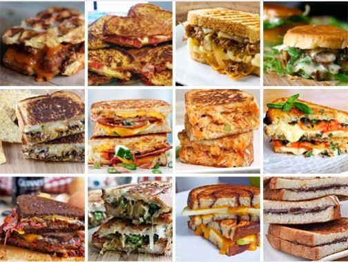 April is National Grilled Cheese Month, so if you haven't yet had a chance to celebrate America's favorite cheesy sandwich, here are some non-traditional combinations to help you get the grilled cheese party started.