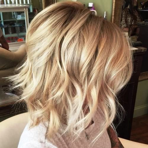 25 Sassy And Trendy Hairstyles For Medium Length Hair Blonde Bob Hairstyles Special Occasion Hairstyles Hair Styles