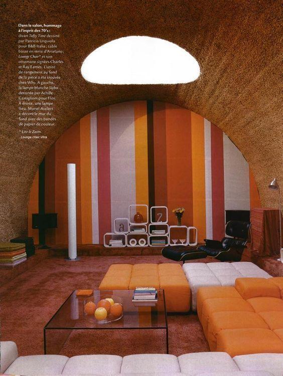 The Vault Of The Atomic Space Age Retro Interior Design Groovy Interiors Retro Interior