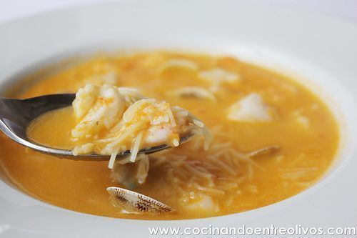 Platos De Cuchara Archivos Pagina 9 De 11 Cocinando Entre Olivos Sopa De Pescado Facil Recetas De Sopa De Pescado Recetas De Sopa