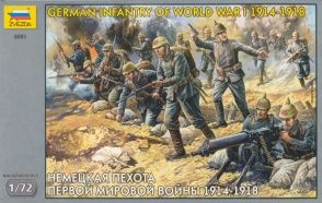 German Infantry of World War I
