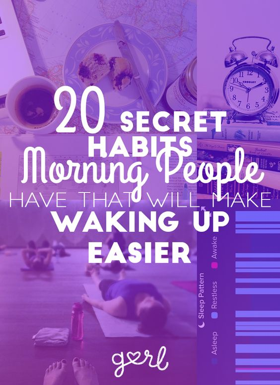 20 Secret Habits Morning People Have That Make It Easier To Wake Up Early