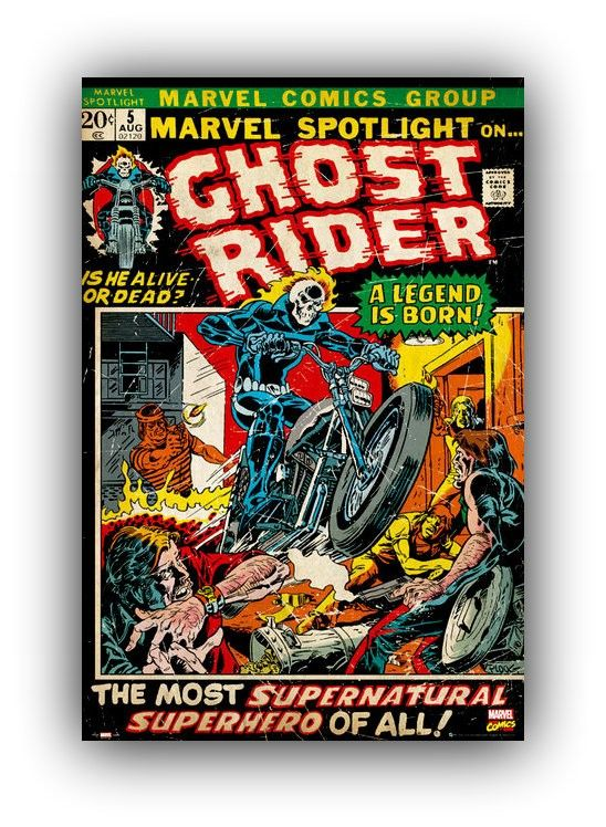 Ghost Rider - Motorista fantasma - www.laminaposter.com