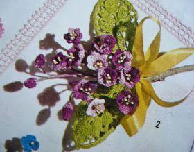 Ana Caldatto : Embellishment - Flores de croche