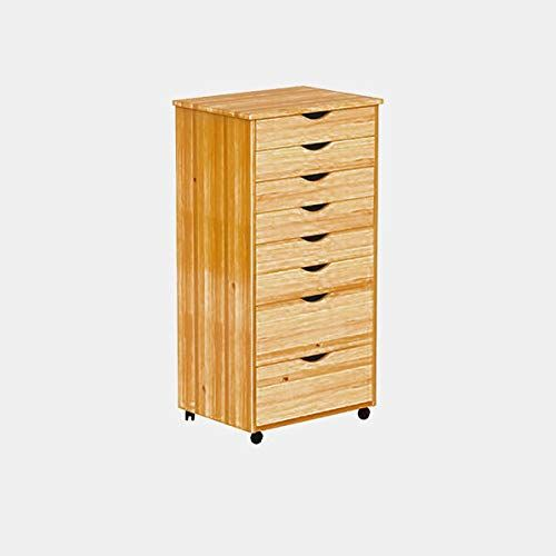 Wood Vertical Filing Cabinet With Casters Filing Cabinet With 8 Drawers Medium Pine Filing Cabinet Wood Casters