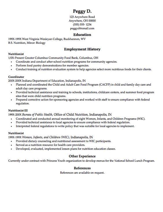 Sample Resume Food Bank - http\/\/resumesdesign\/sample-resume - resume for machine operator