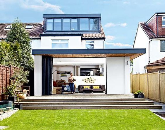 Gaining space with a rear extension and loft conversion   Real Homes