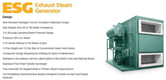 Cain Industries Esg Product Line With Images Steam Generator Steam Boiler Thermal Expansion