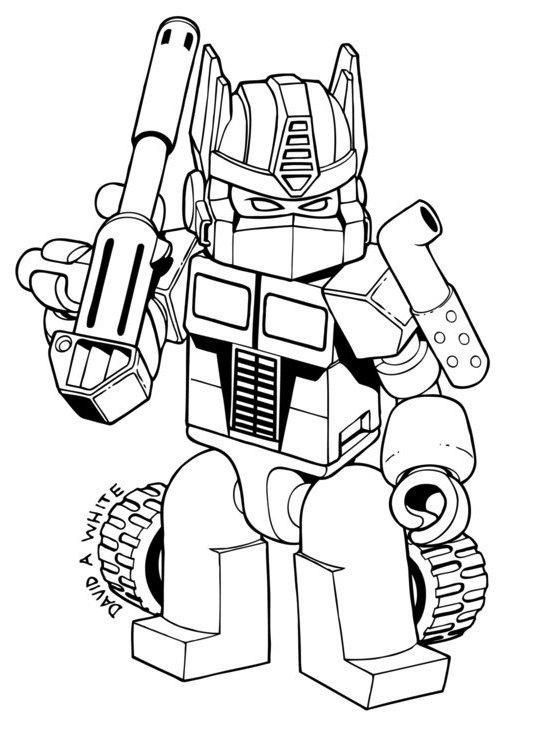 Coloring Pages Transformers Bumblebee Maleboger Kreativ Tegning