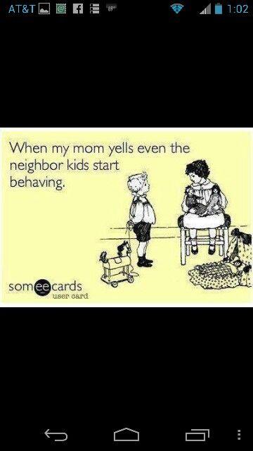 True story!  Lol