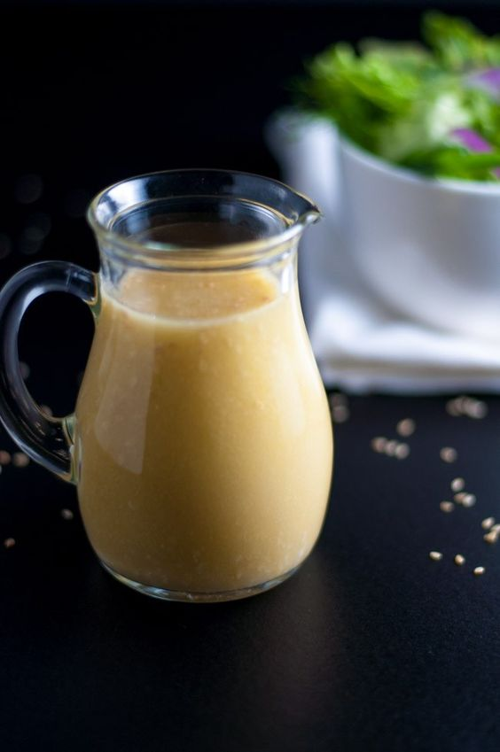 Sesame Miso Vinaigrette and Marinade. This is a sensational dressing ...