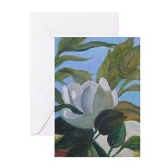 SOUTHERN MAGNOLIAS Greeting Cards