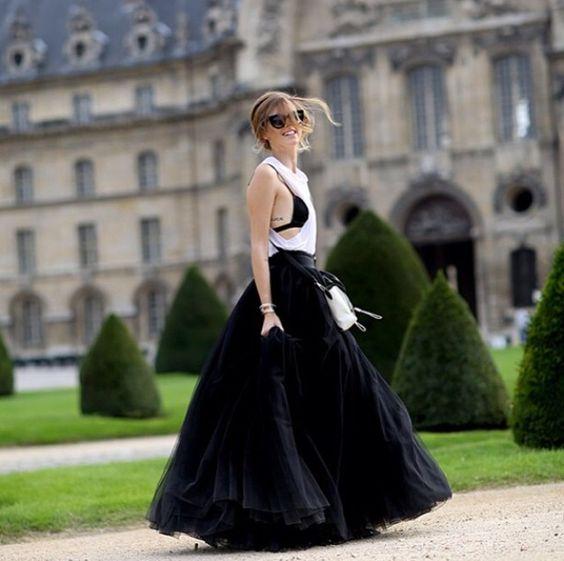 Chiara Ferragni à Paris