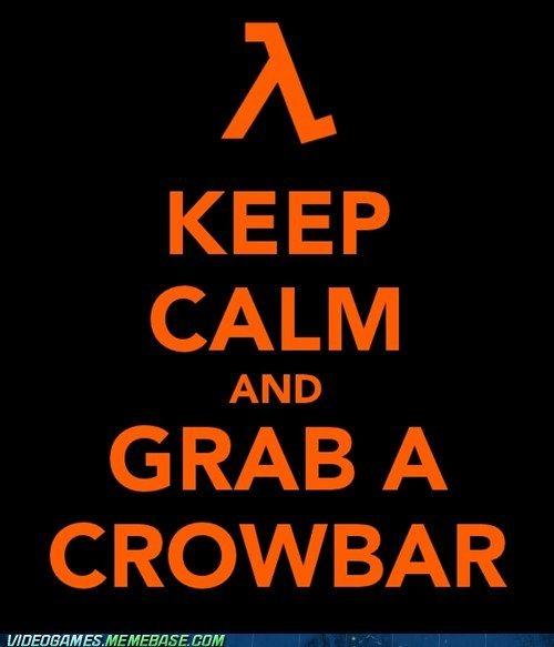 Keep calm Half Life