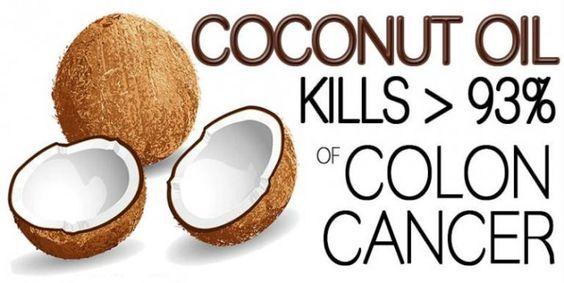 Zelfs artsen zijn geschokt: kokosolie doody 93% van de kankercellen in de dikke…