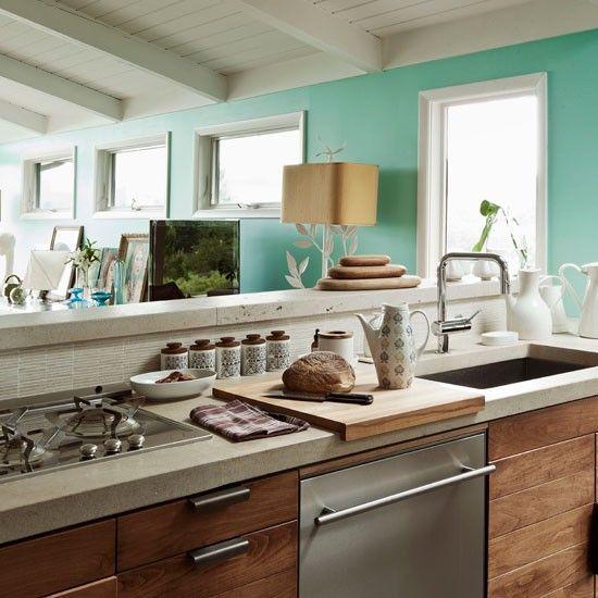Fresh contemporary kitchen: