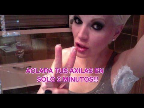▶ ACLARA y BLANQUEA tus AXILAS en solo 2 MINUTOS!!! RESULTADO INMEDIATO!!! - YouTube