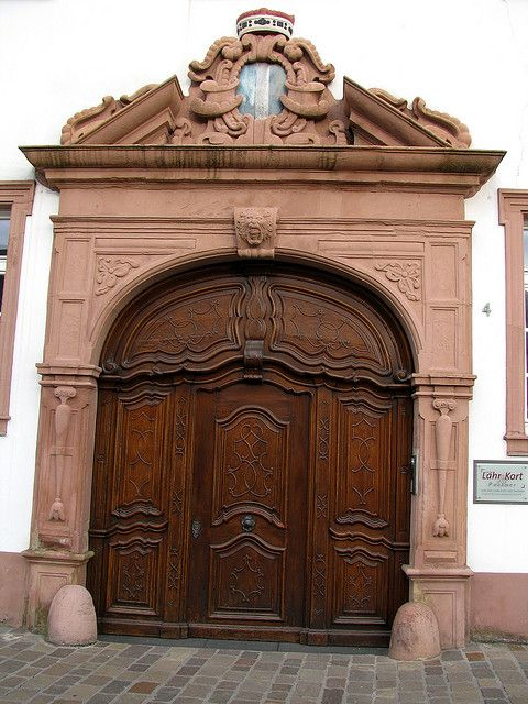 Old door, Trier, Germany