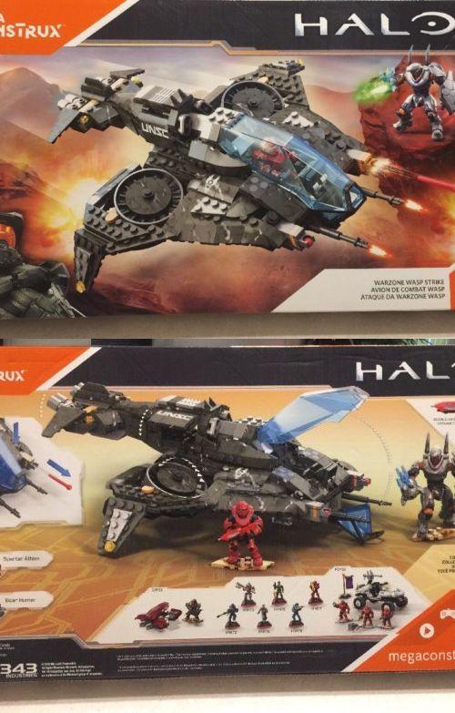 Mega Bloks Building Toys 52338: New Mega Construx Halo 5