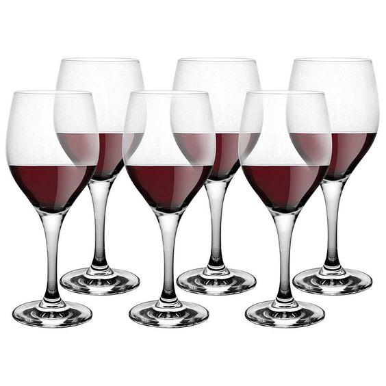 Schott Zwiesel Mondial Red Wine, Set of 6, NIB Clear Break Resistant Crystal #SchottZwiesel